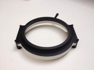 Formando 3D printing portfolio - Tussenstuk filter Nikon camera fototoestel - 3D print plastic