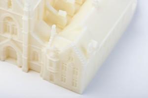 Formando 3D printing portfolio - Maquette kerk in Brugge - 3D scan en print
