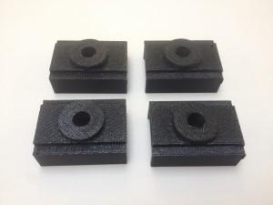3D print scharnierpunt van machinedeur