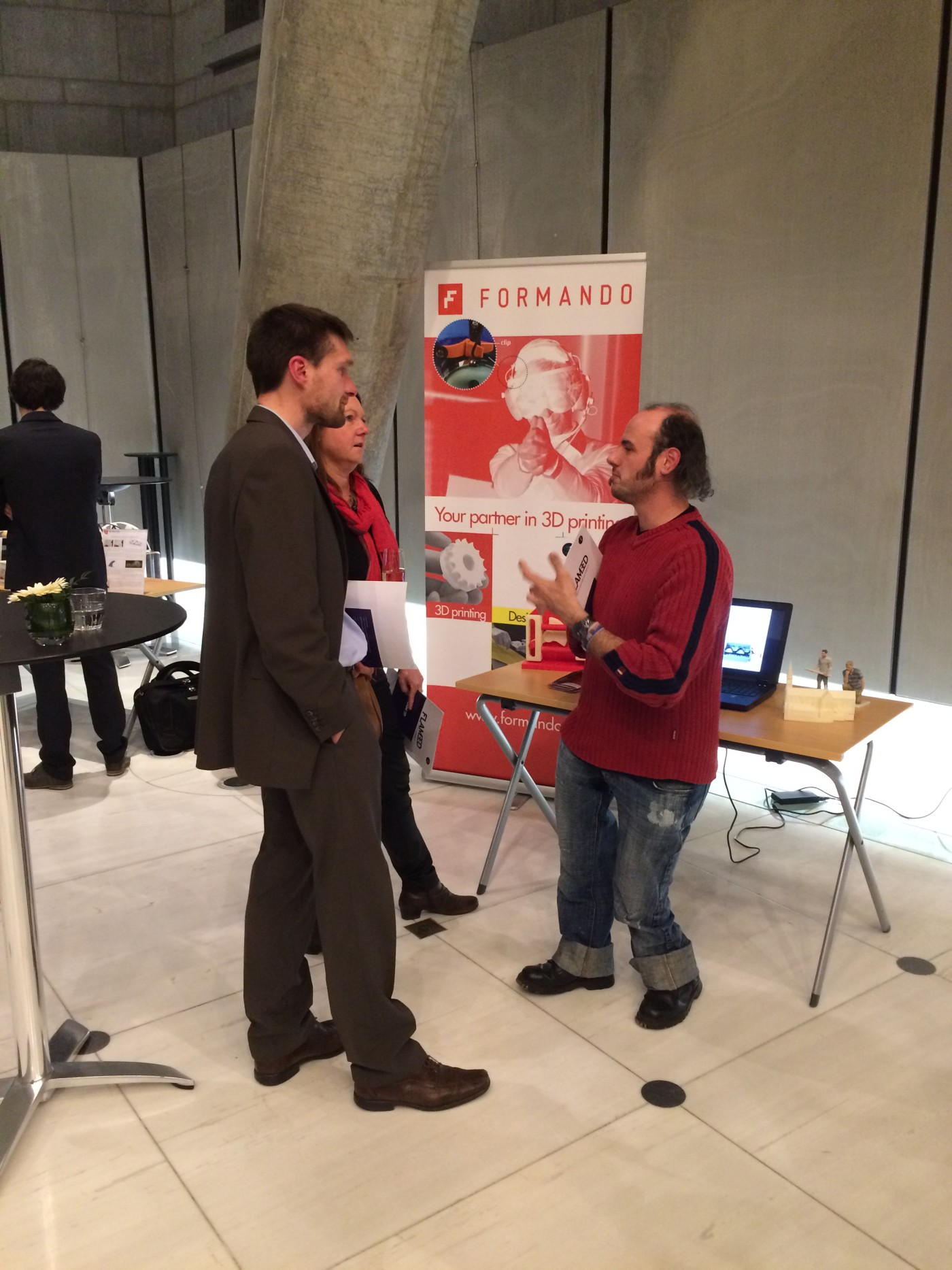 Flam3D openingsevent
