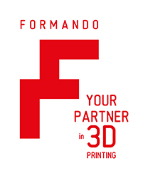 Formando logo - Your partner in 3D printing