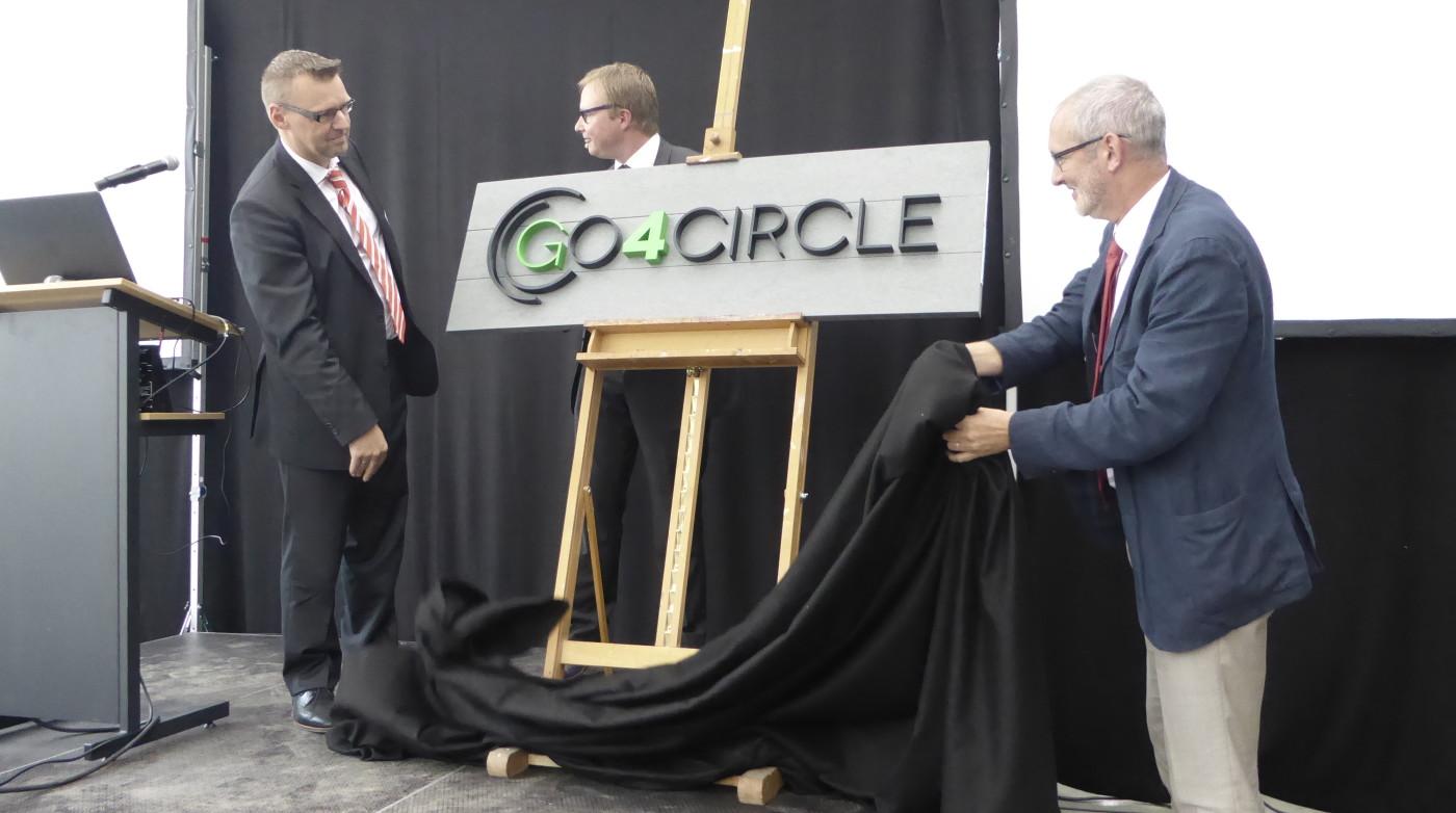 3D logo Go4Circle