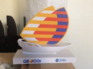 3D print Formando_dhow boot Q8