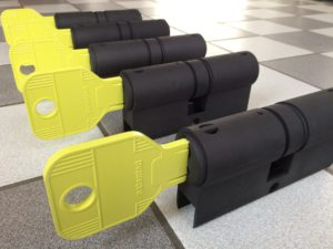 Formando-3d print LED lighting in form of cylinder lock