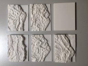 Formando 3D print reliëfplaten op schaal