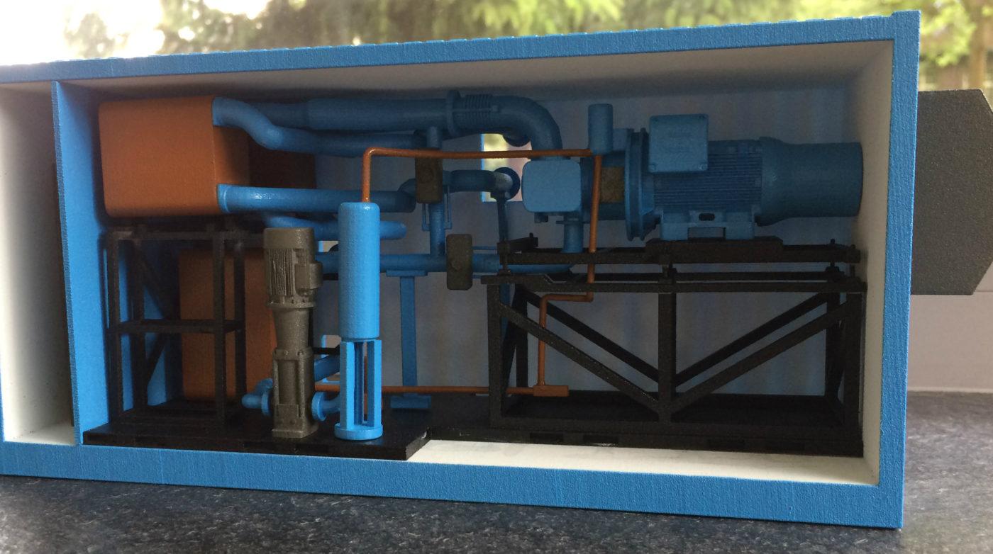 Formando - 3D print van schaalmodel
