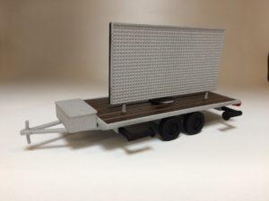 Schaalmodel LED TV trailer_Maxled + Formando