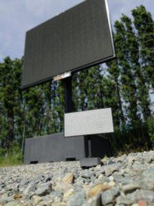 Schaalmodel LED TV totem_Maxled + Formando