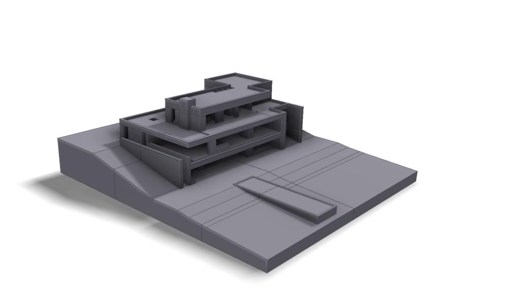 3D maquette Formando